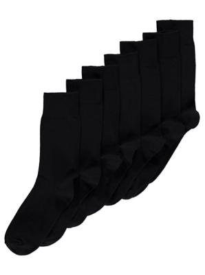 Black Socks 7 Pack