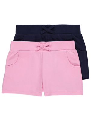 Pink Jersey Shorts 2 Pack
