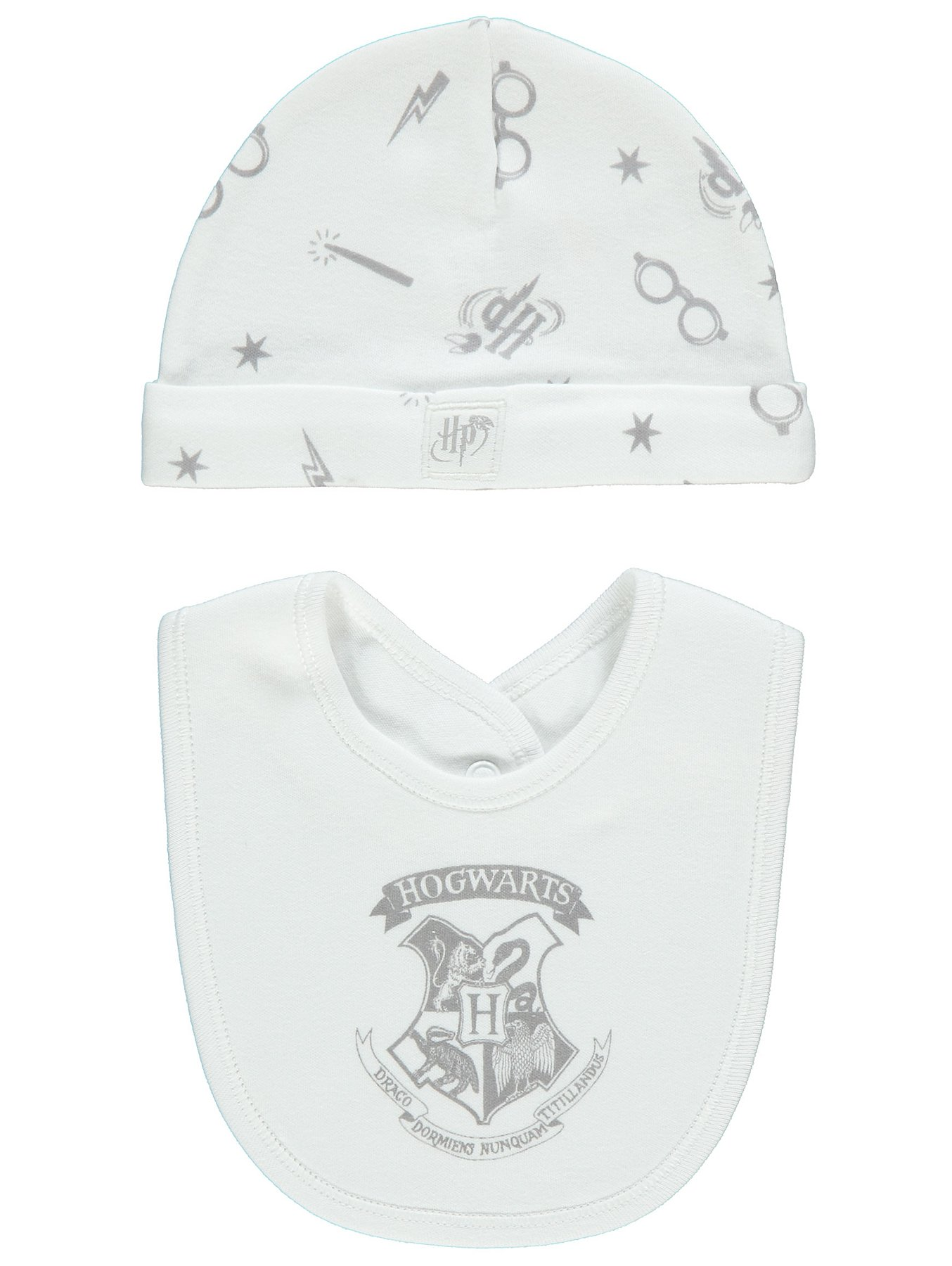 278374b0d Harry Potter Sleepsuit, Bib and Hat Set | Baby | George