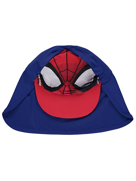 116f806802 Marvel Spider-Man Sun Protection Swimsuit and Hat Set