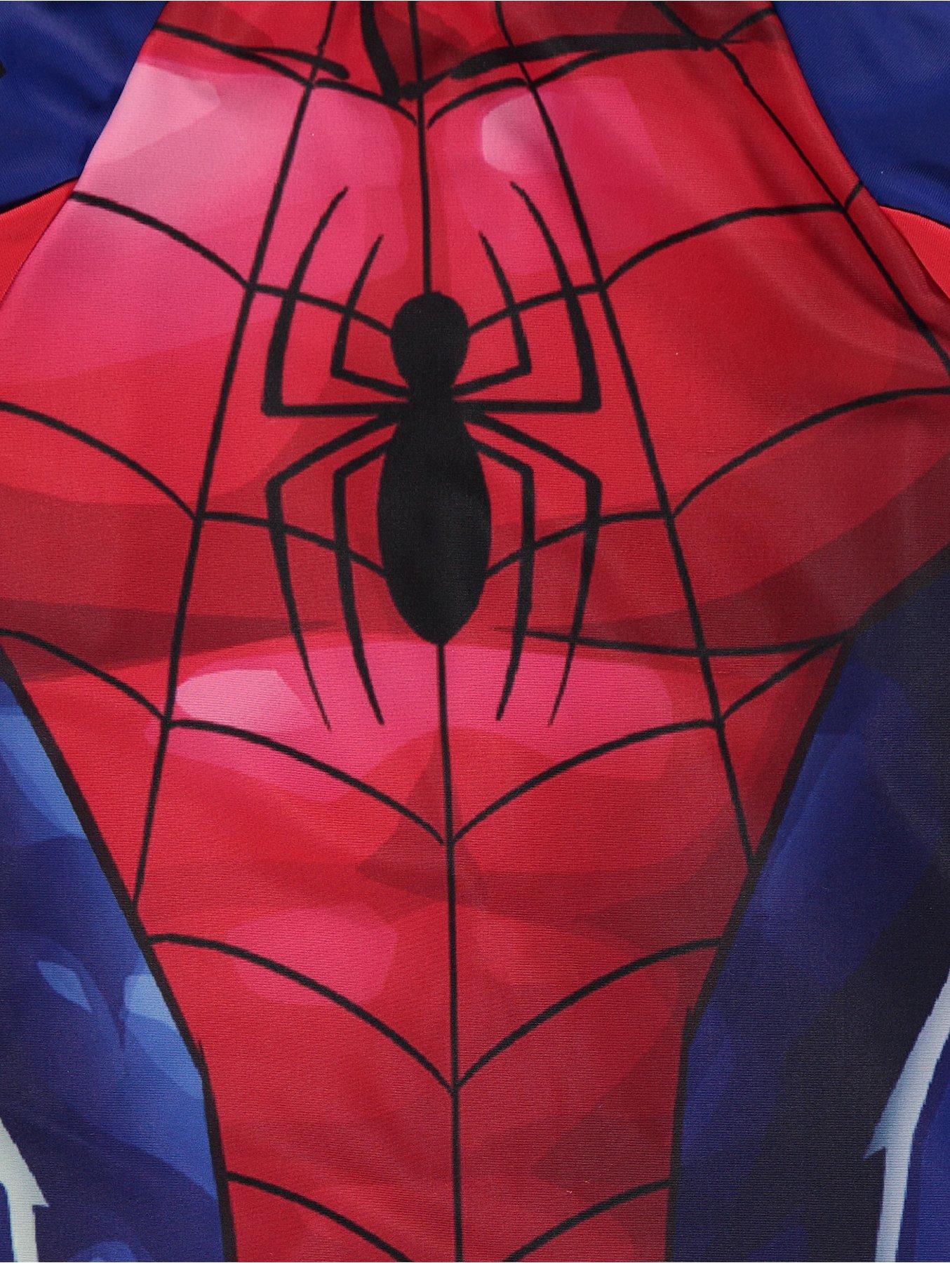 3abebb76ea5 Marvel Spider-Man Sun Protection Swimsuit and Hat Set   Kids   George