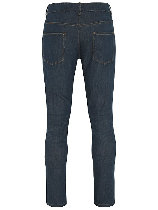 301e8ced4e96 Navy Coated Slim Fit Stretch Jeans | Men | George