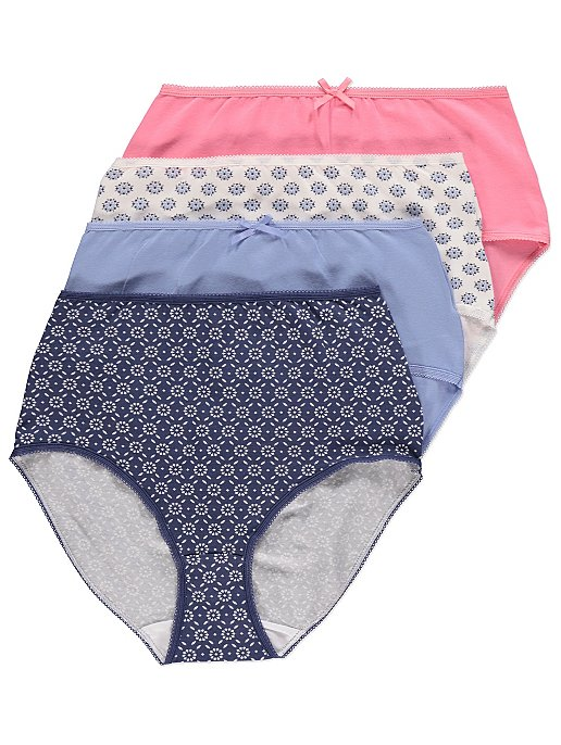 f4403cbbf6 Floral Full Briefs 4 Pack. Reset