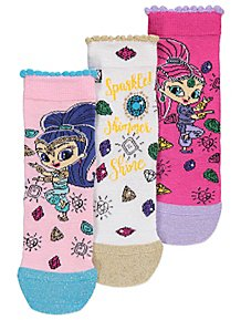 3579da267d Shimmer and Shine Socks 3 Pack