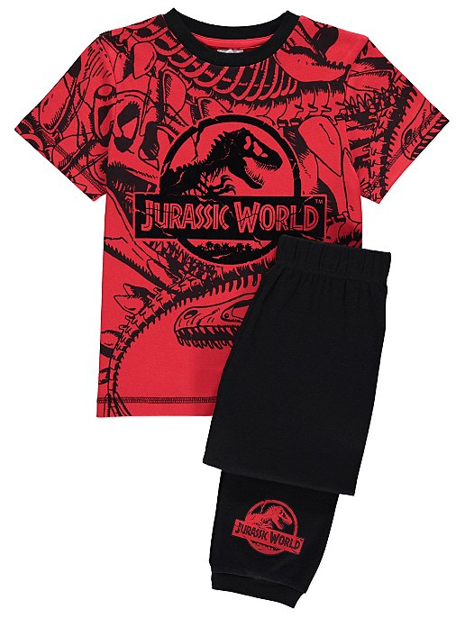 d6db281c6 Jurassic World Red Printed Pyjamas