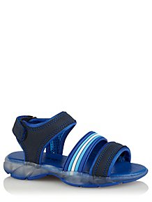 726955ff7ee2 Blue Light Up Sandals