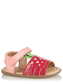 31a45eea57b First Walkers Strawberry Sling Back Sandals