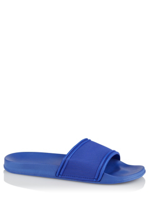 Blue Textured Pool Sliders