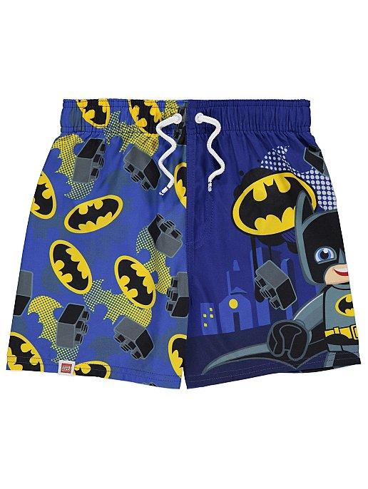 a584d6f37e LEGO Duplo Batman Blue Swim Shorts | Kids | George