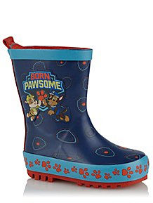 8fb107099cd PAW Patrol Blue Wellington Boots