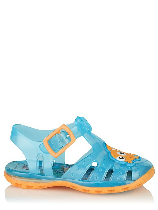 84b202199c75 First Walkers Blue Disney Finding Nemo Jelly Sandals