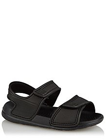 43cfd657c Black 2 Strap Sandals. £5