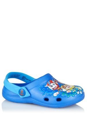 Paw Patrol Blue Clogs