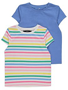 f580e53b279ff Assorted Crew Neck T-Shirts 2 Pack