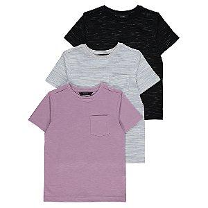 Marl T-Shirts 3 Pack