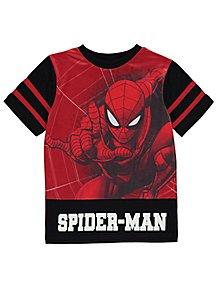 6239630ecf Marvel Spider-Man Mesh Detail Top