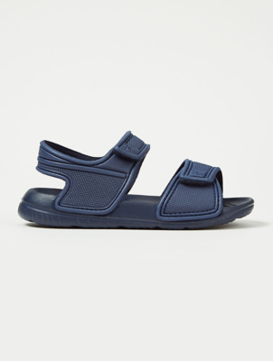 Navy 2 Strap Sandals