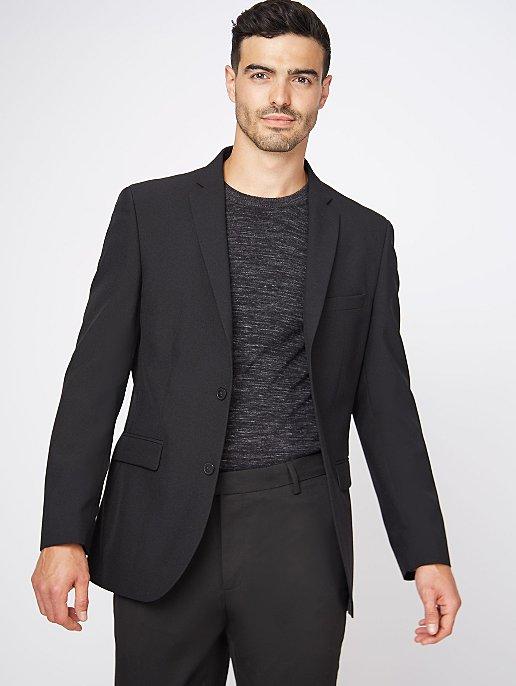 12523e3a5d18 Black Regular Fit Suit Jacket | Men | George