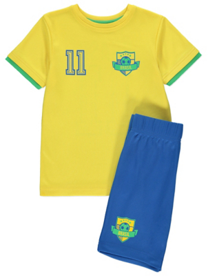 Brazil Top and Shorts Outfit
