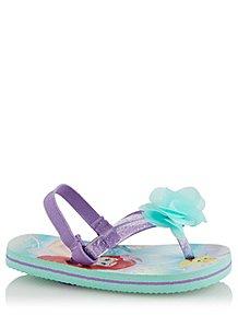 1dd0e1790 Disney Princess Ariel Sling Back Flip Flops