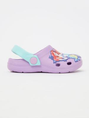 Ariel The Little Mermaid Purple Clogs
