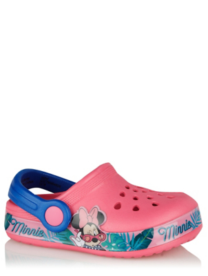 Disney Minnie Mouse Pink Clogs