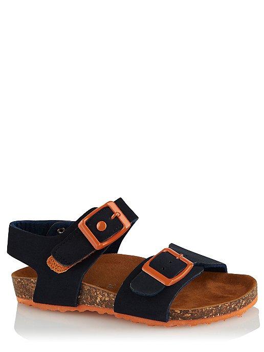 8947c17c9f Navy 2 Buckle Strap Sandals   Kids   George