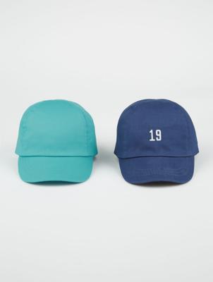 Assorted Baseball Caps 2 Pack