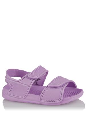 Purple 2 Strap Sandals