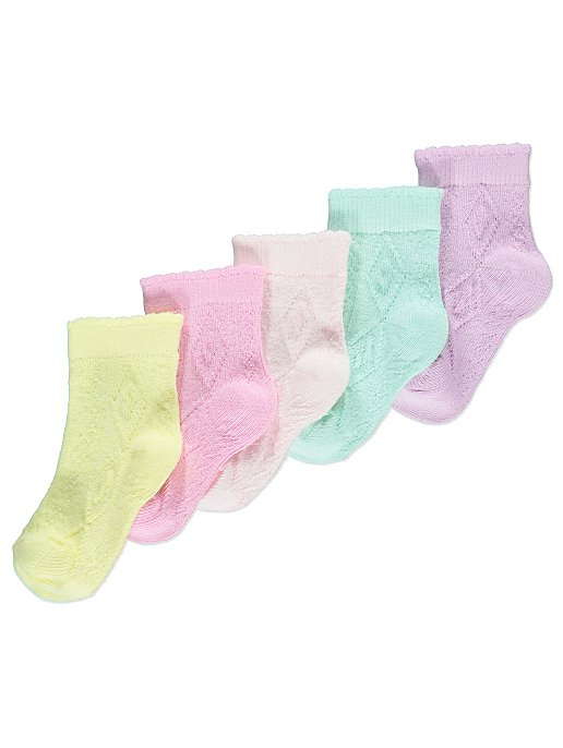 5310da5a4 Pastel Socks 5 Pack