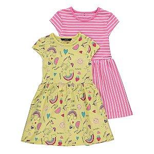 Doodle Print Dresses 2 Pack