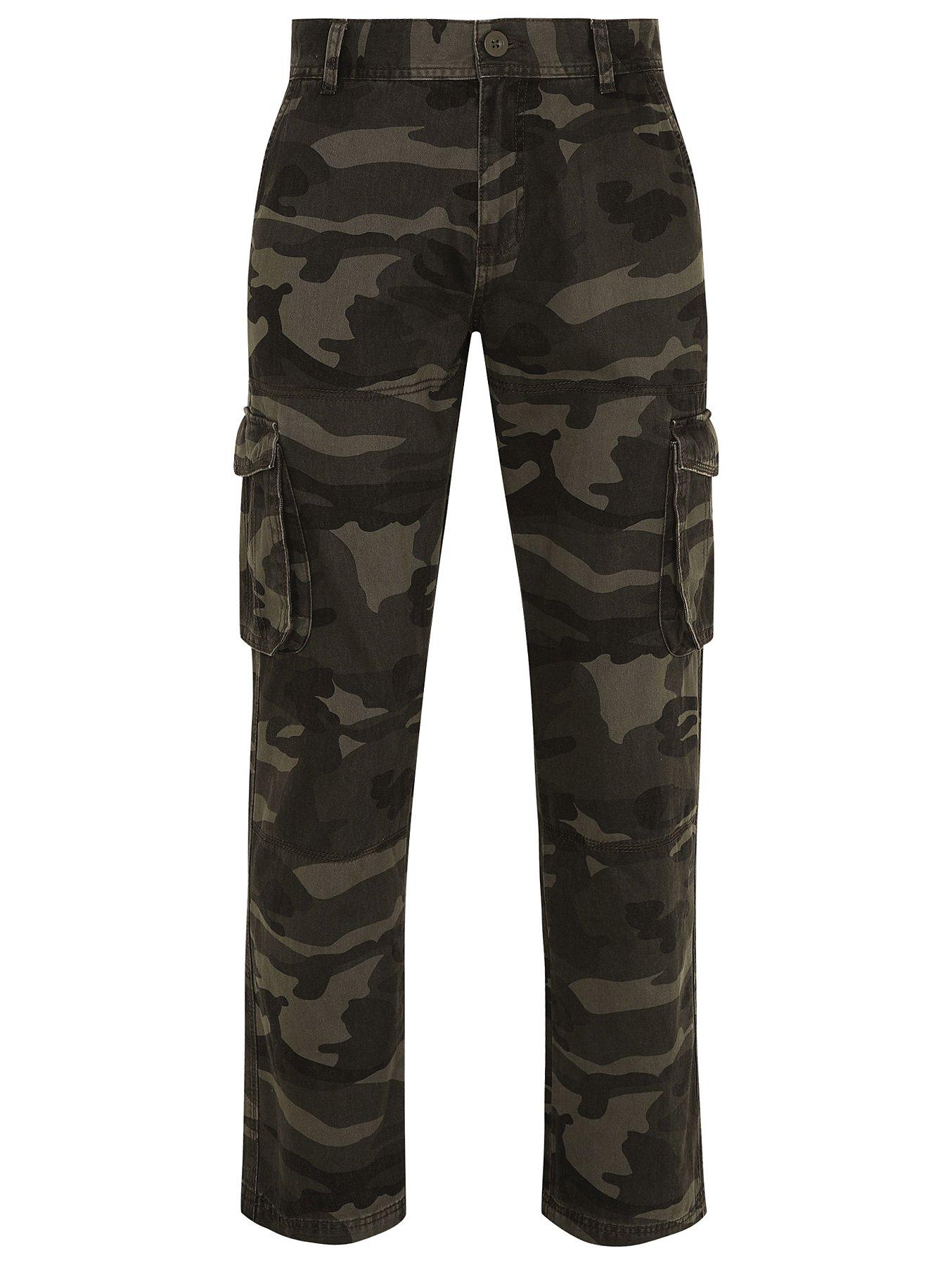 38dde02b5c Khaki Camo Cargo Trousers