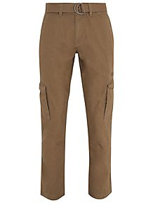 Mens 40w 31 Leg Black Trousers Florence And Fred Trousers