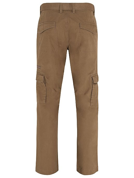 attractive designs unparalleled to buy Tan Belted Cargo Trousers