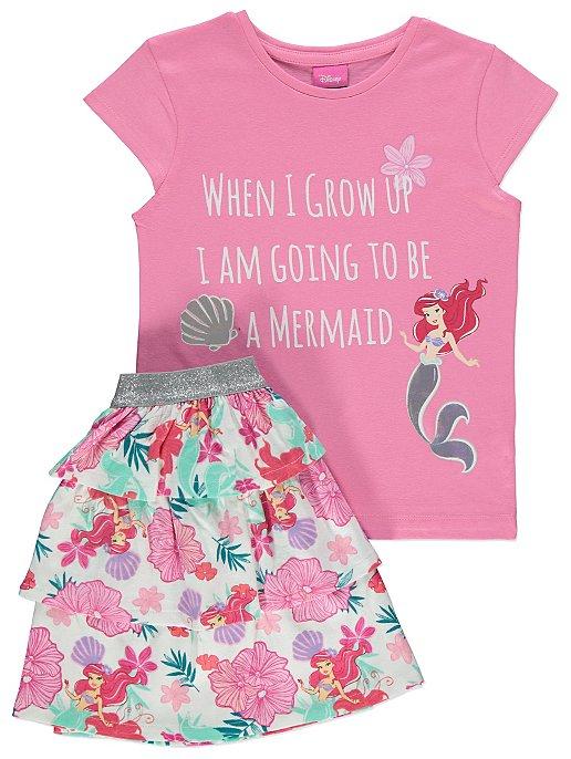 e06a8aa0e44cc Disney The Little Mermaid Ariel Outfit | Kids | George