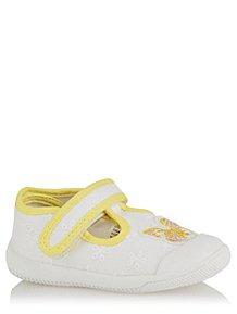 Frank Boys Canvas Shoes Size 6 Uk Infant George At Asda Blue White Kids' Clothes, Shoes & Accs.