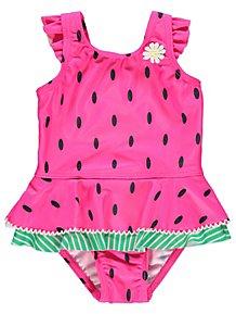 de5594ad5fc42 Baby Girls' Swimwear | Sun Protection Swimwear | George at ASDA