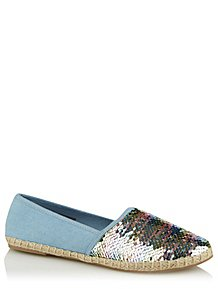 c09a8f71806a Navy Lace Up Trainers. (0). Blue Mermaid Sequin Espadrilles