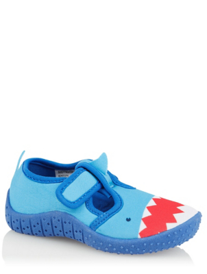 First Walkers Blue Shark Water Shoes