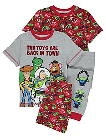 cfa676e3ff Toy Story Short Sleeve Pyjamas 2 Pack
