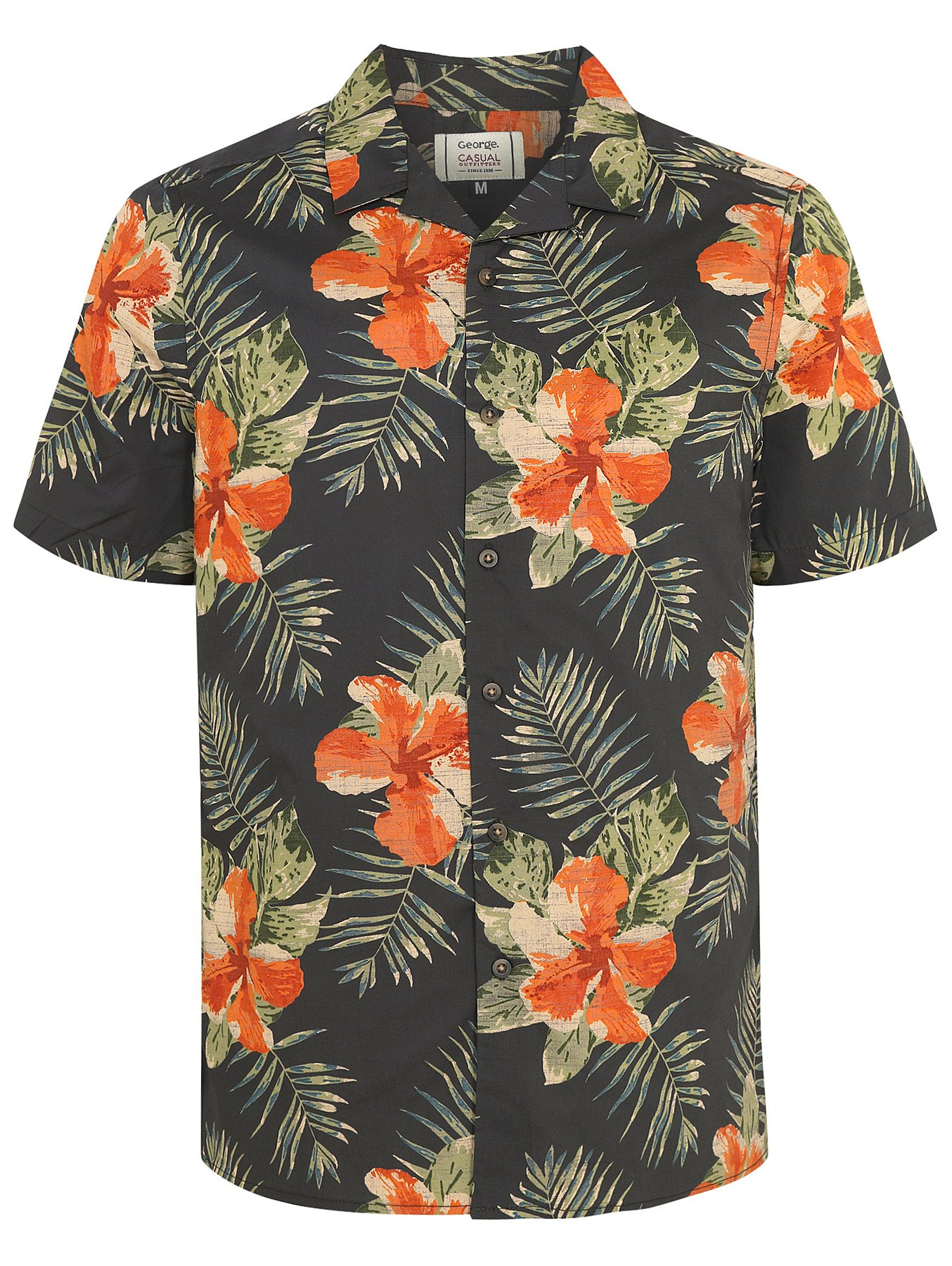 e2792431b Floral Print Short Sleeve Shirt. Reset