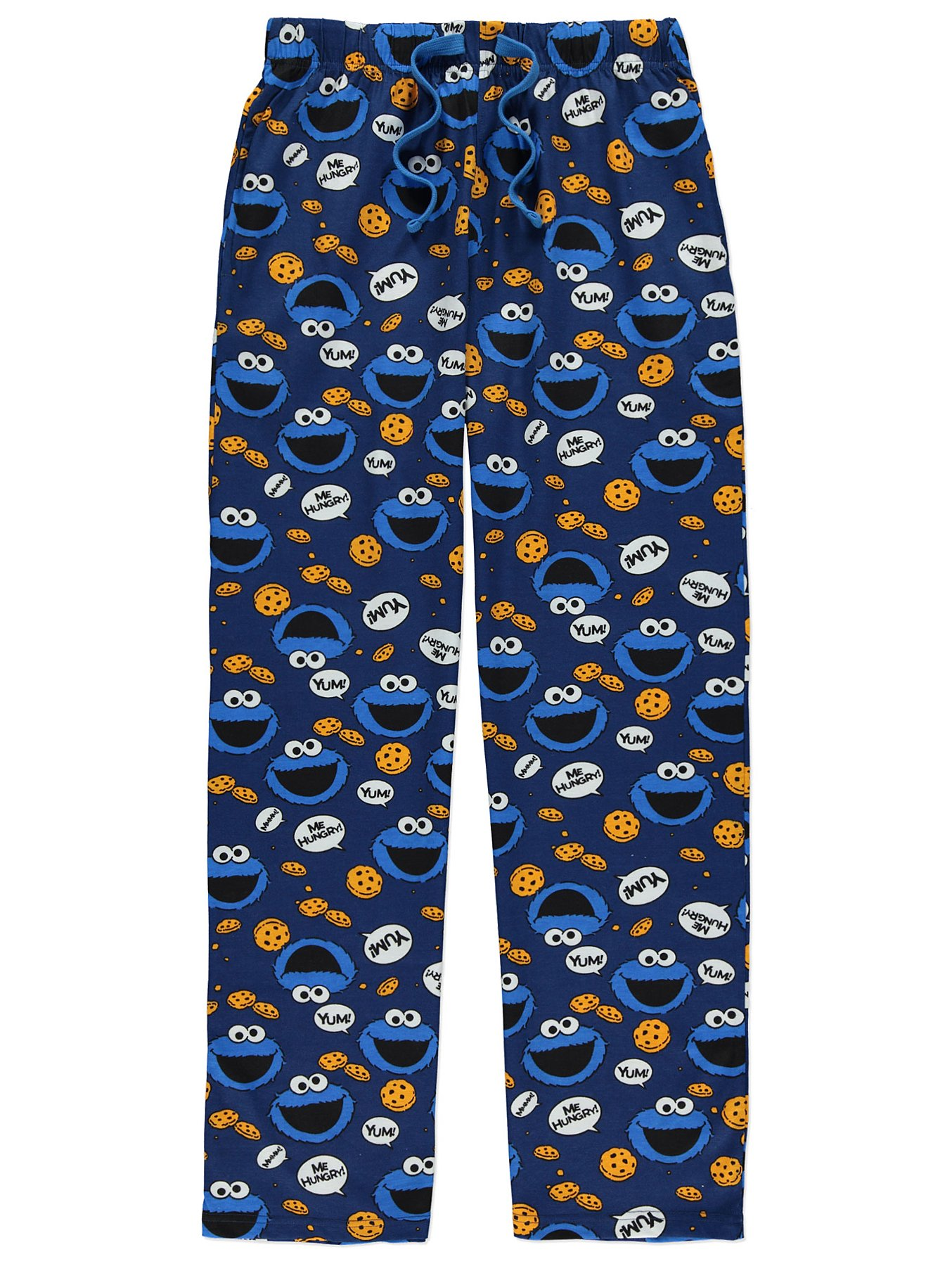 Sesame Street Mens Character Pajama Sleep Pants