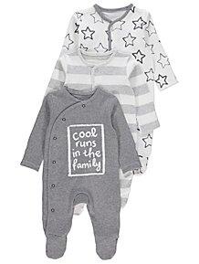 1b105fd9b81c Baby Boys Sleepsuits   Pyjamas