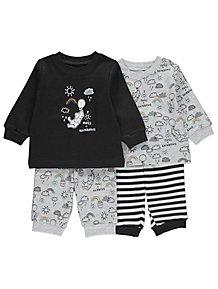 Disney Winnie the Pooh Pyjamas 2 Pack 995bcacec