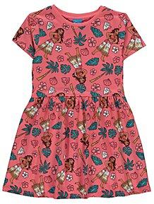 1c396100336 Disney Moana Pink Printed Dress