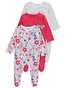 10lbs Easy To Use Baby & Toddler Clothing Clothing, Shoes & Accessories Next Baby Girls Sleepsuits New Baby Up To 1 Month