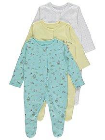 a7a3323b0503 Baby Girls Sleepsuits   Pyjamas