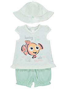 d832ae2eb Disney Finding Nemo Top Shorts and Hat Outfit