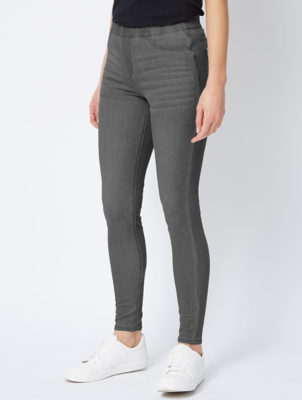 Grey Twill Trousers