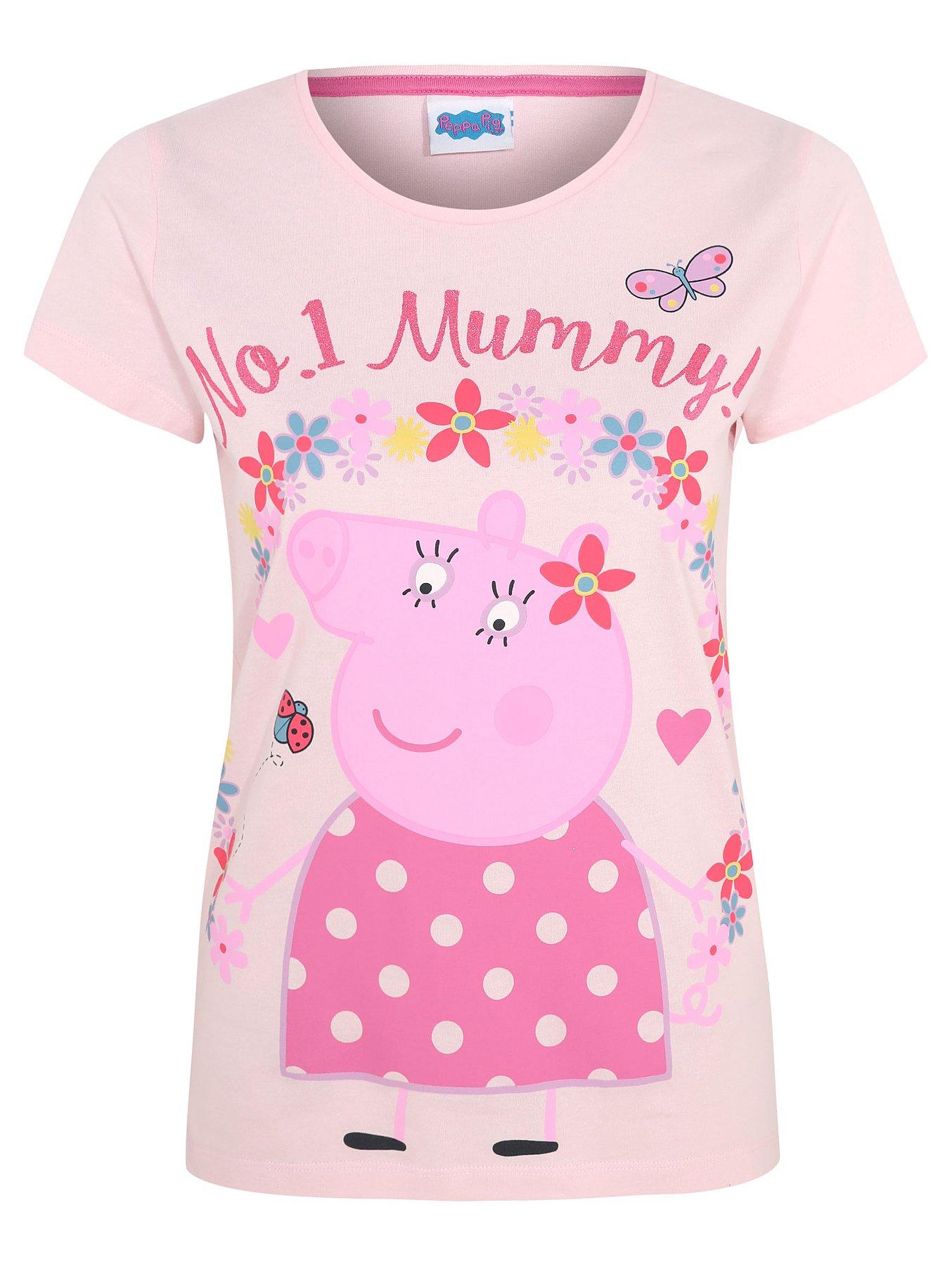 2c21e4b2 Peppa Pig Mummy Pig Pink Slogan Pyjamas | Women | George
